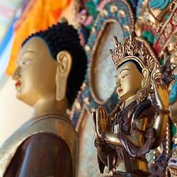 Chenrezik&Buddha